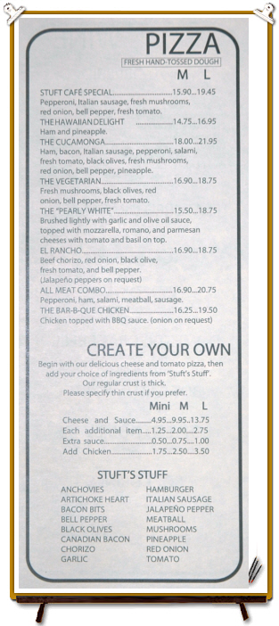 PIZZA + CREATE YOUR OWN